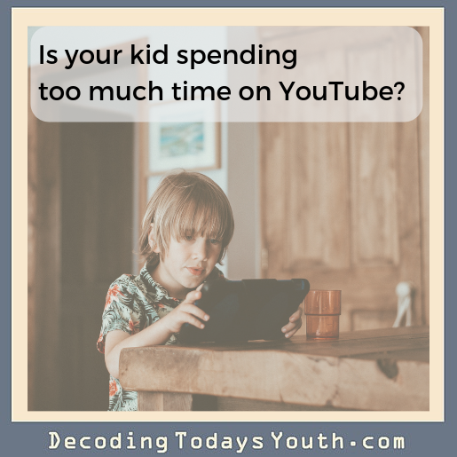 Is Your Tween Spending Too Much Time On YouTube?