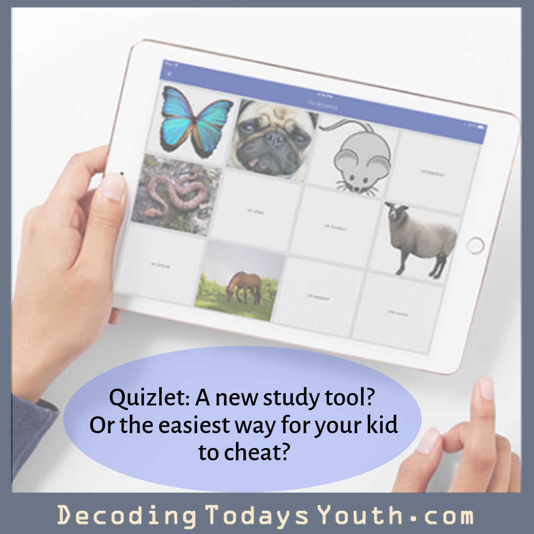 Quizlet: A new study tool? Or the easiest way for your kid to cheat?