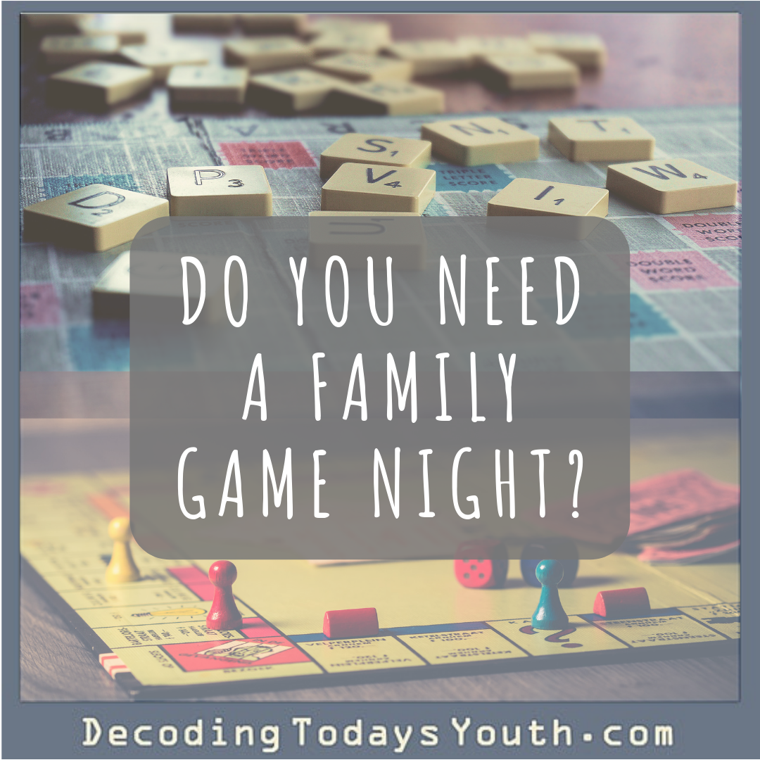 Do You Need a Family Game Night?