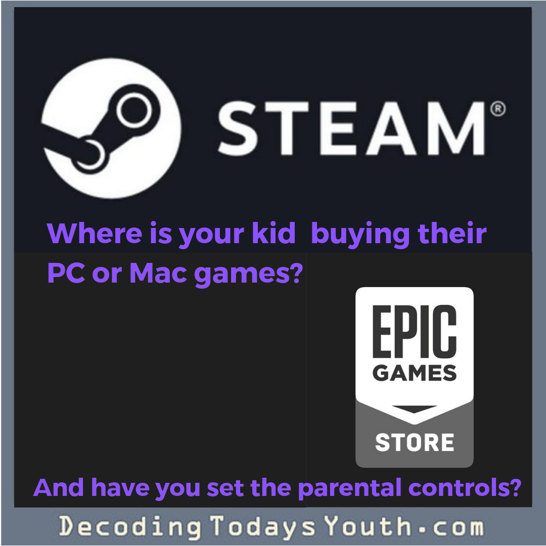 Where is your kid purchasing their video games?