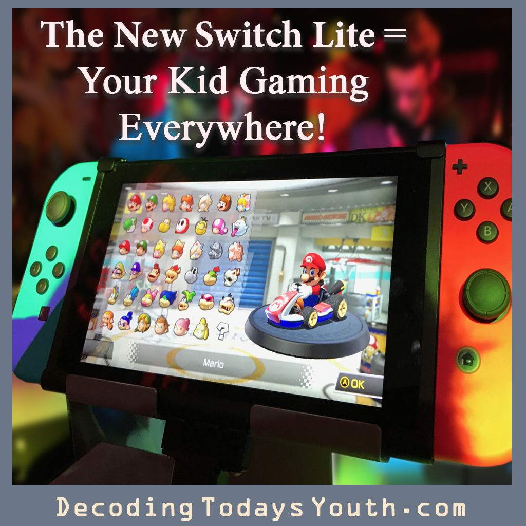 The New Switch = Your Kid Gaming Everywhere!