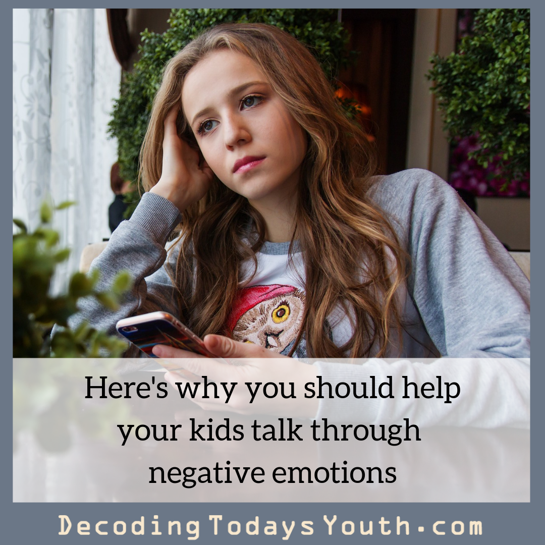 Helping Your Kids with Negative Emotions