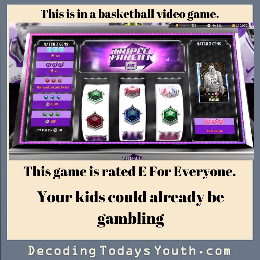 Real Gambling Inside Your Kid's Video Game