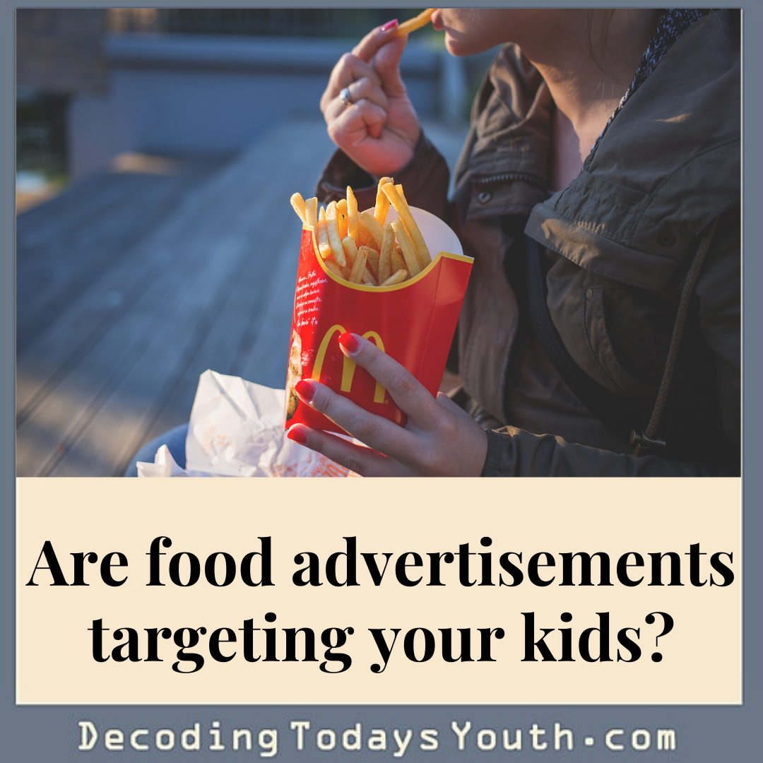 Are food advertisements targeting your kids?