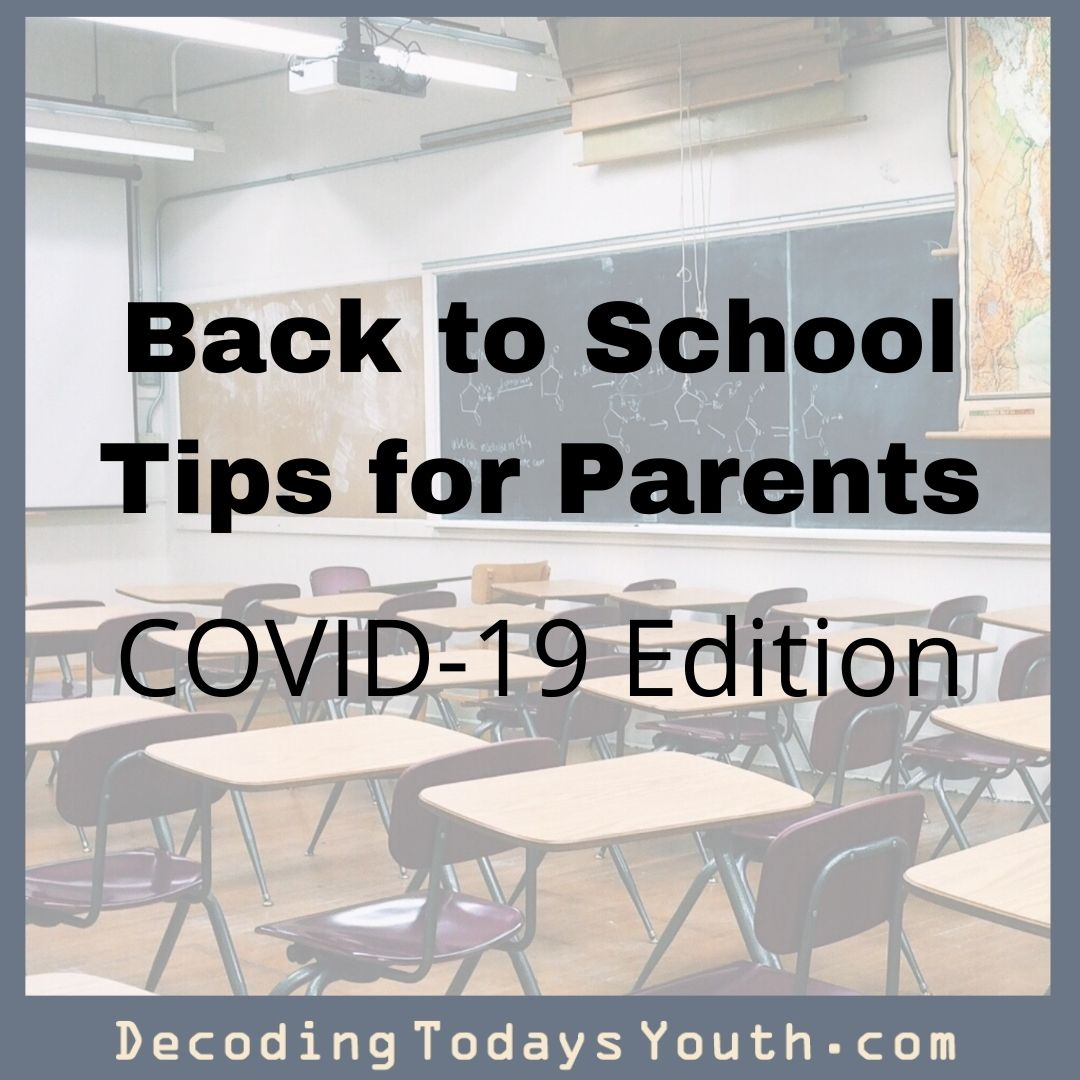 Back-to-School Tips for Parents: COVID-19 Edition