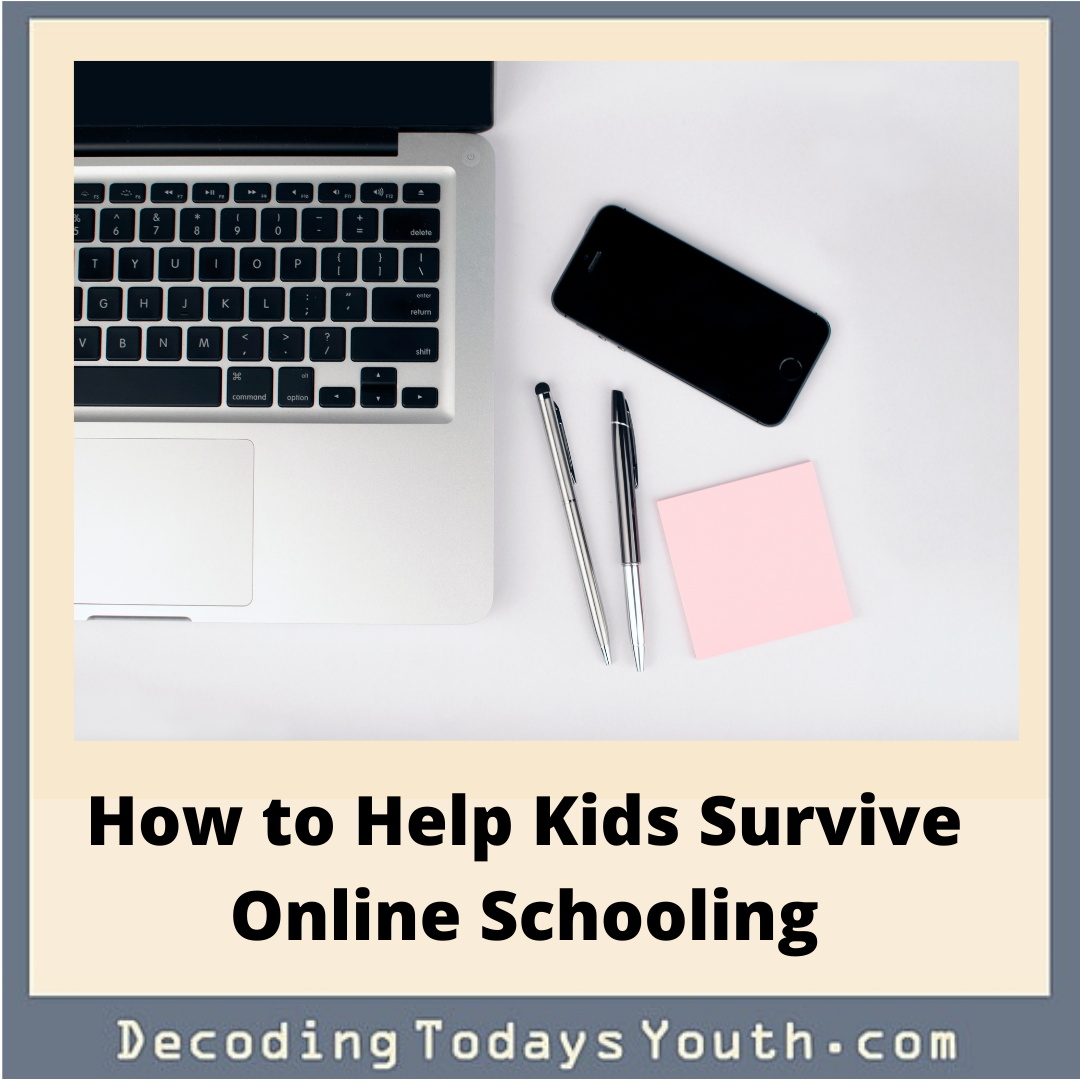 How to Help Kids Survive Online Schooling