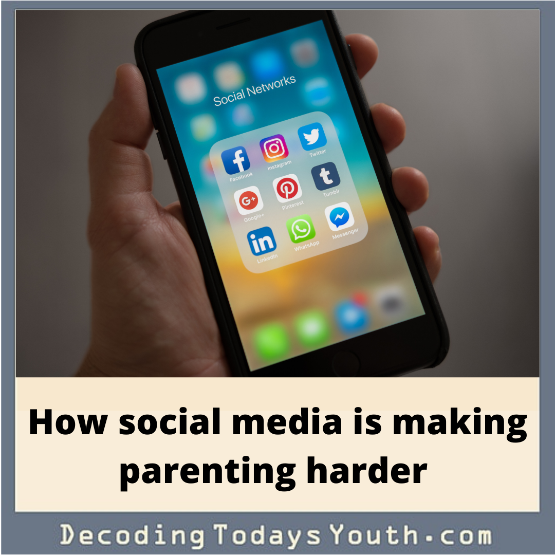 How social media is making parenting today harder