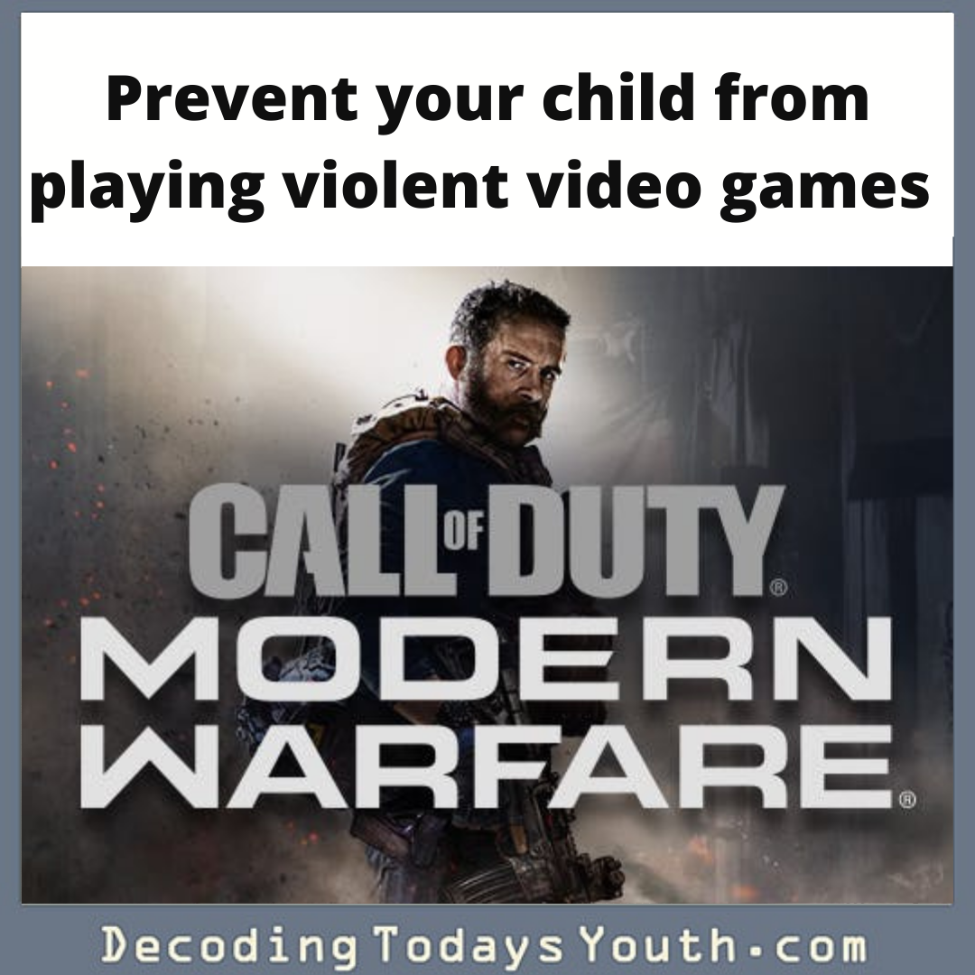 Ways to prevent your child from playing violent video games