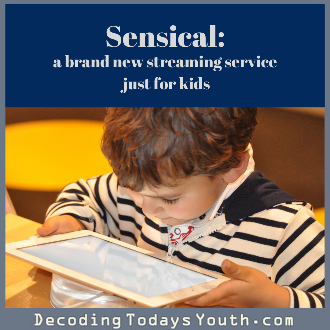 Sensical is a brand-new streaming service just for kids